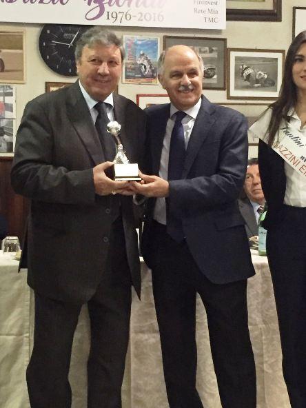Presidente FCI Renato Di Rocco e Fabrizio Biondi (Foto Giacinto Gelli)