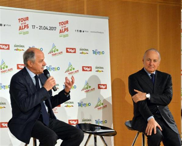 Renato Di Rocco ed Enzo Ghigo (Foto Daniele Mosna)