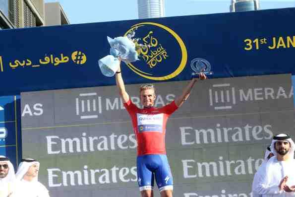 DUBAI TOUR: Maglia Rossa Marcel Kittel (Foto Ansa)