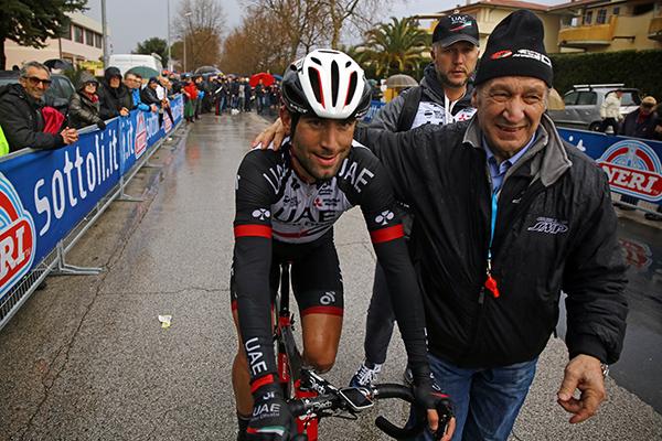 05/02/17 - Donoratico (Li) - 20 GP costa degli Etruschi - km 190,6 -  nella foto: Diego Ulissi e Adriano Amici © Riccardo Scanferla - Photors.it