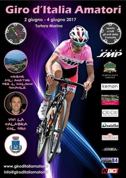 09.02.2017 - LOCANDINA - Giro d'Italia Amatori 2017 locandina
