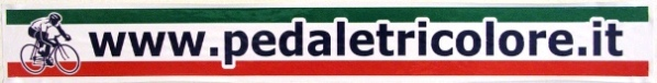 09.02.2017 -  -  Logo di www.pedaletricolore.it - semplice