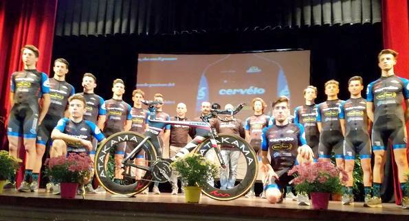 Squadra Fracor Team Cervelo 2017