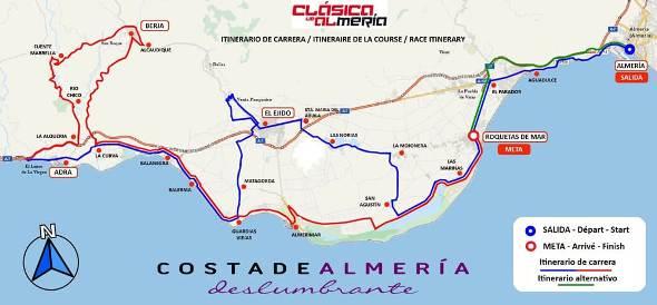Planimetria della 34° Clasica de Almeria