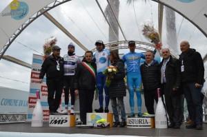 54^ Trofeo Laigueglia - Podio con le Autorità^ - (Foto Claudio Mollero)