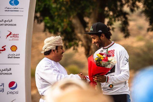 Tour of Oman 2017 - Stage 3 - Sultan Qaboos University / Quriyat - Merhawi KUDUS (DDD), conserve le maillot blanc de meilleur jeune
