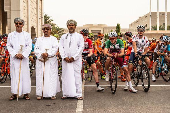 Tour of Oman 2017 - Stage 3 - Sultan Qaboos University / Quriyat - Ambiance au départ de l'étape