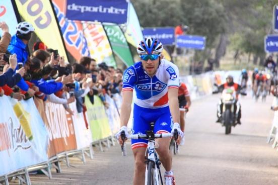 Thibaut Pinot vince la 2^ tappa (Foto Jean Claude Faucher)