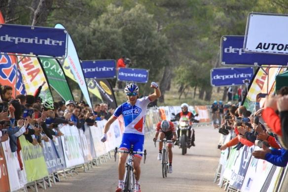 Thibaut Pinot vincitore 2^ tappa (Foto Jean Claude Faucher)