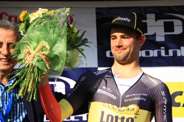 17.02.2017 – Lucena (Spagna) – 3° Tappa cronoindividuale alla Vuelta Andalucia. Vince il Campione del Belgio Victor Campenaerts – Fotoservizio di Jean Claude Faucher