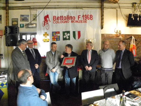 Bernardi, premio una Vita per il ciclismo (Foto Nastasi)