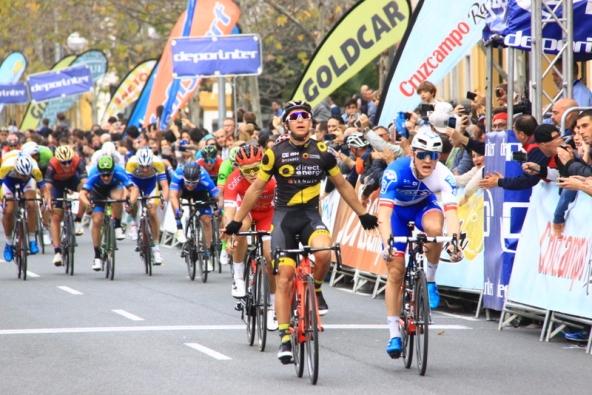 18.02.2017 – Siviglia (Spagna) – E' Bryan Coquard il vincitore della 4° tappa della 63° Vuelta Andalucia – Fotoservizio di Jean Claude Faucher
