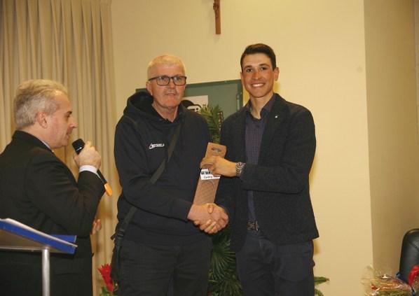Premiazione Davide Martinelli (Foto Berry)