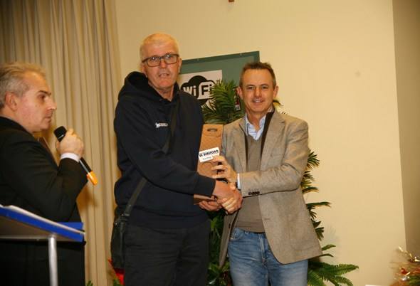Premiazione Fabio Perego Vicepresidente CP-FCI di Monza&Brianza (Foto Berry)