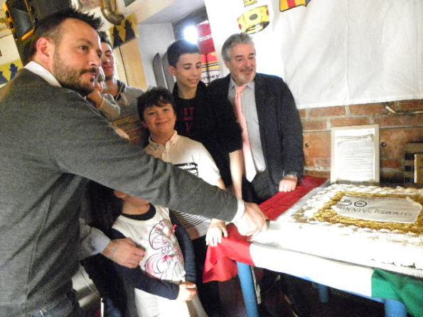 Taglio della Torta (Foto Nastasi)