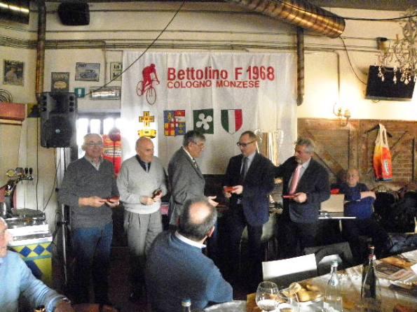 Dagnoni premia Marino Valtorta (Foto Nastasi)