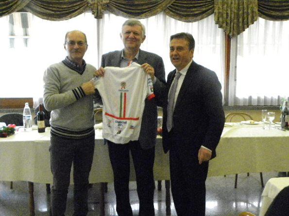 Maglia col Tricolore simbolo del 150^ Unita^ d'Italia (Foto Nastasi)