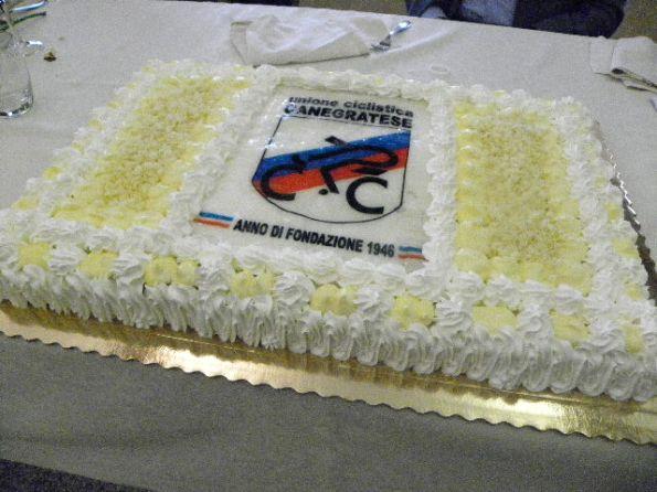 La torta (Foto Nastasi)