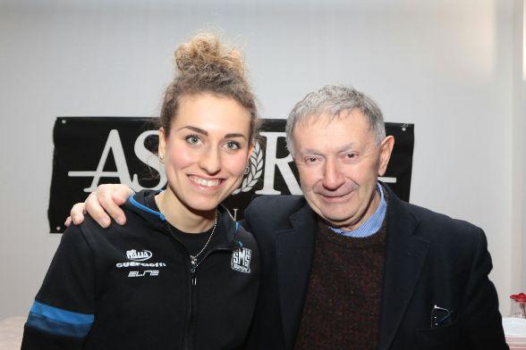 Alice Arzuffi con Vito Bernardi (Foto Pisoni)