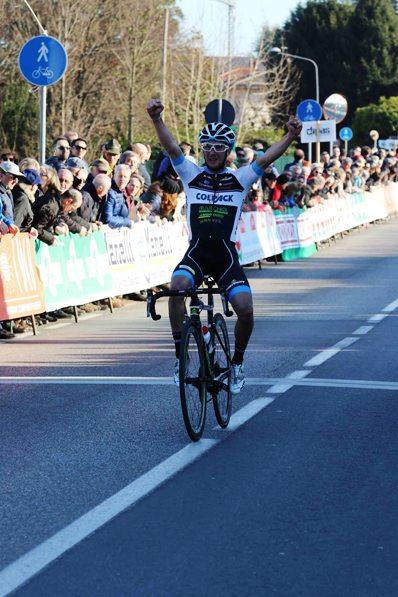 Leonardo Bonifazio vince 93^ Coppa San Geo a Prevalle (Foto Pisoni)