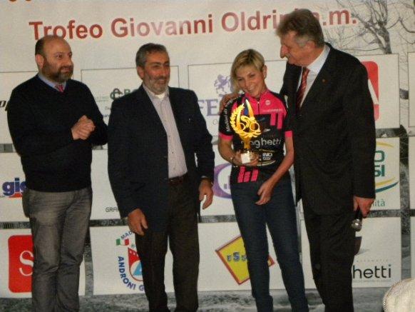 Sindaco Bellaria, Sponsor Fusaro, Antonella Rutigliano e Cav Silvio Pezzotta (Foto Carlo Vaj)