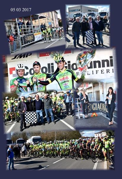 Fotocomposizione con tema la 55^ Coppa Belricetto (Autore Armando Tosatti, Armanden)