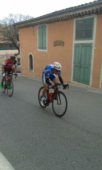 Luca Ferrario 4^ in Francia