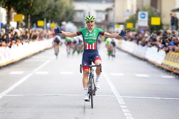 Simone Bevilacqua vince a Mareno di Piave e conquistya titolo Campione Regionale Veneto cat. U23