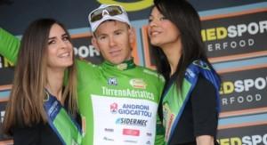 Davide Ballerini leader provvisorio classifica GPM alla 52^ Tirreno-Adriatico