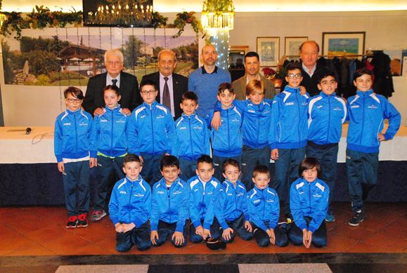 Squadra Giovanissimi dello Sporting Club Mobili Lissone