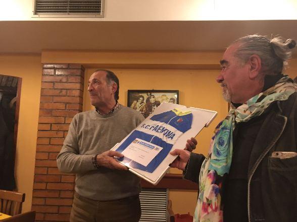 Babini con la maglia della SC Faentina (Foto di Roberto Miserocchi)