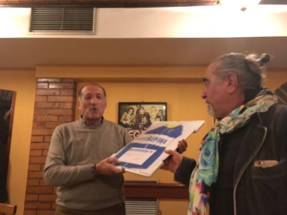 Raffaele Babini, orgoglioso di questa nomina a Presidente della SC Faentina -(Fotoservizio di Roberto Miserocchi)
