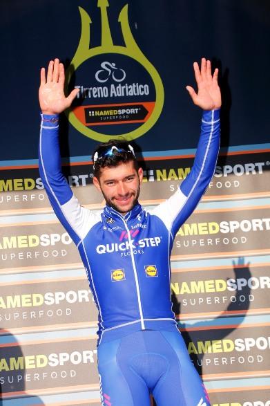 Fernando Gaviria vincitore tappa Civitanova Marche (photobicicailotto)