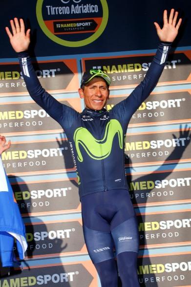 Nairo Quintana leader provvisorio Tirreno Adriatico 2017 (photobicicailotto)