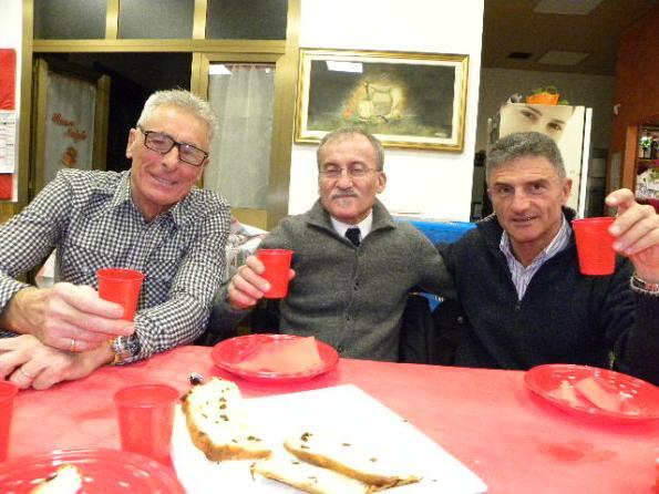 Da sinistra, Giuliano Silenzi, Dario Villa e Pierluigi Prina (Foto Nastasi)