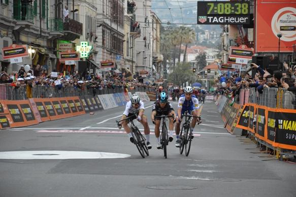 Sagan battuto d'un soffio (Foto Claudio Mollero)