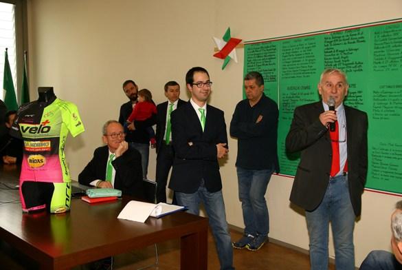 A destra Bettoni presidente CP-FCI Como (Foto Berry)