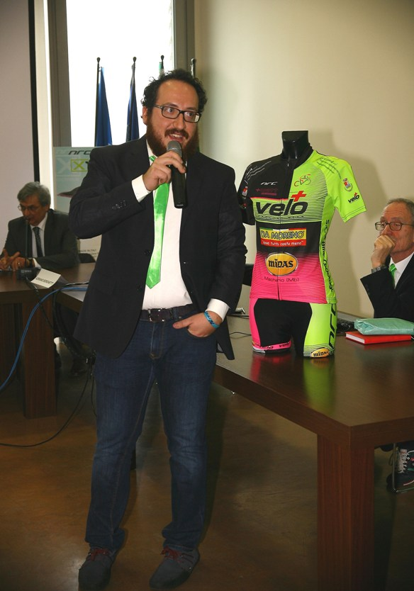 Carlo Sala, presidente della Scv Bike-Cadorago (Foto Berry)