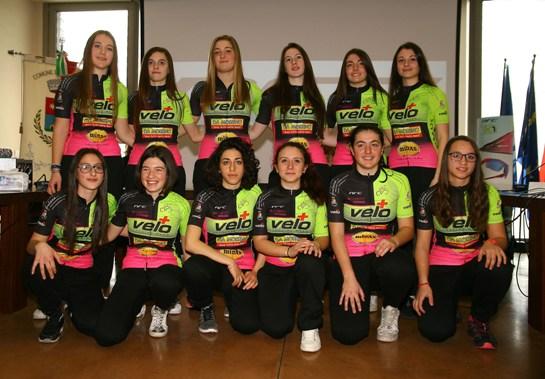 Tutte le atlete SCV Bike-Cadorago 2017 (Foto di Berry)