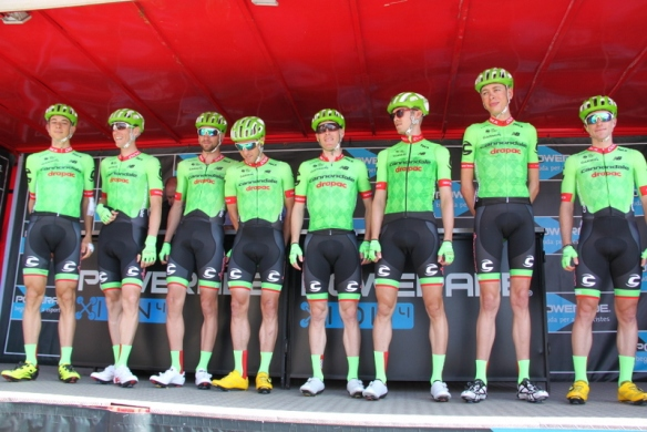 Team Cannondale (Foto JC Faucher)