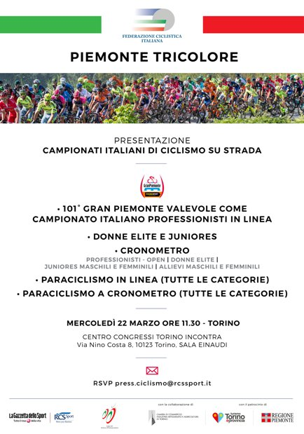 21.03.2017 - LOCANDINA PRESENTAZIONE CAMPIONATI ITALIANI PROFESSIONISTI