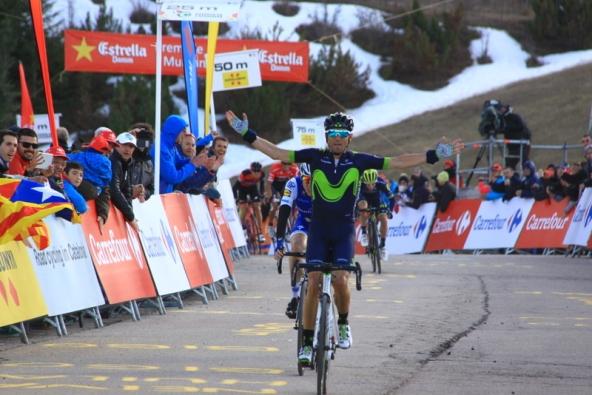 Valverde a La Molina (Foto Jean Claude Faucher)