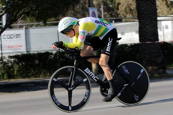Rohan Dennis vincitore della cronoindividuale di San Benedetto del Tronto (photobicicailotto)