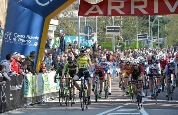 Strepitosa vittoria del Tricolore Corsa a Punti 2016 Edoardo Zambanini (Ciclistica Dro)