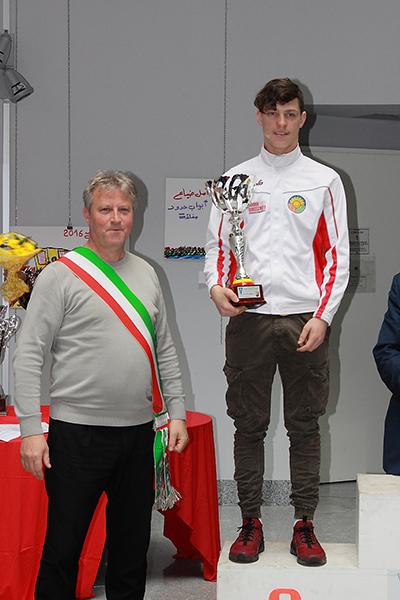 Premiazione di Manuel Oioli (Foto Kia Giuseppe Castelli (Foto Kia Giuseppe Castelli)