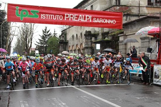 Esordienti 1° anno pronti per il via (Foto Kia Giuseppe Castelli)