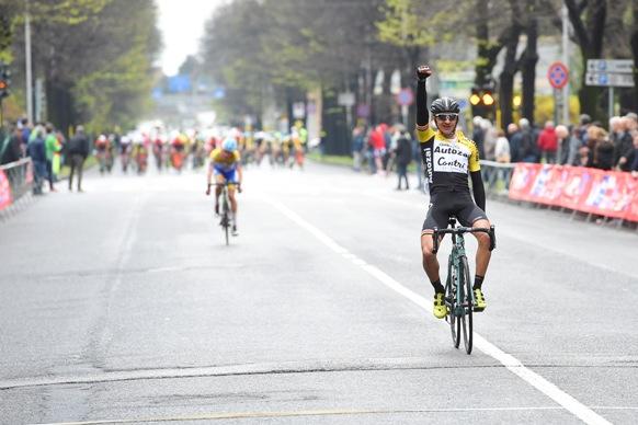 Mattia Petruicci vince la 38^ Piccola San Geo (Foto Pubbliphoto)
