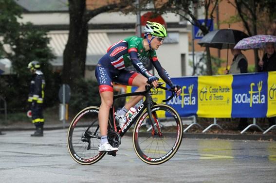 Riccardo Lucca vola solitario verso la vittoria (Foto di Mosna Natascia G.)