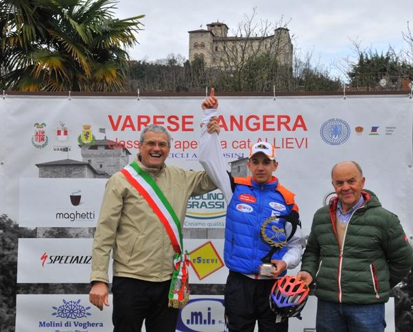 Premiazione di Andrea Piccolo (Foto di Carlo Vaj)