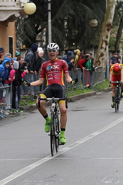 Gioele Solenne vince a Caronno Pertusella (Foto Kia Giuseppe Castelli)